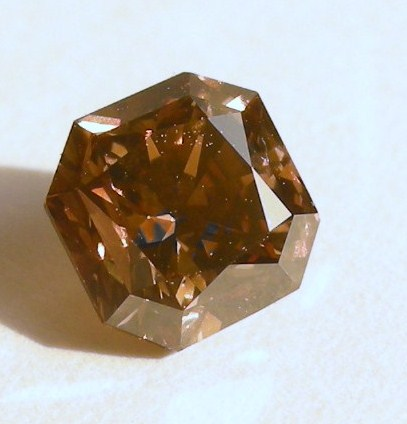 Cognac brown diamonds